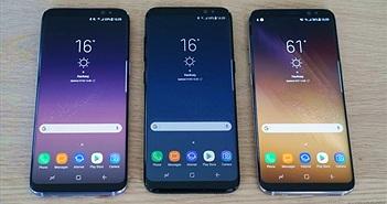 Màn hình Galaxy S8/S8 Plus mặc định là Full HD, có thể đổi thành WQHD+