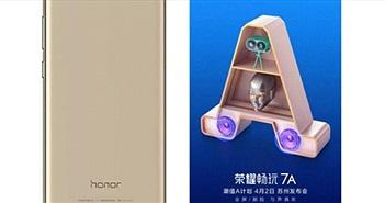 Honor 7A trang bị camera kép, nhận diện khuôn mặt sẽ ra mắt ngày 2/4