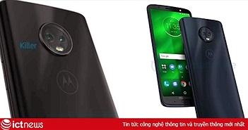 Rò rỉ hình ảnh cuối cùng của Motorola Moto G6