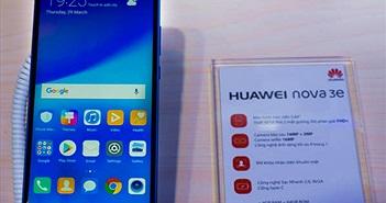 Huawei Nova 3e: Màn hình tai thỏ, giá hạt dẻ 6,9 triệu đồng