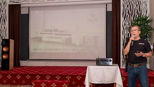 Anh Duy Audio ra mắt hệ thống âm thanh không dây HEOS của DENON