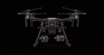 DJI Zenmuse XT2: Camera drone đầu tiên có cảm biến hình ảnh nhiệt