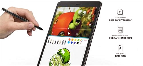 Samsung ra mắt Galaxy Tab A 8.0 (2019) với bút S-Pen, pin 4.200mAh