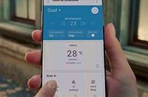 Quảng cáo điều hòa, Samsung để lộ Galaxy Note20 Ultra?