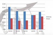 Samsung và Apple chiếm hai vị trí dẫn đầu về số lượng điện thoại xuất xưởng