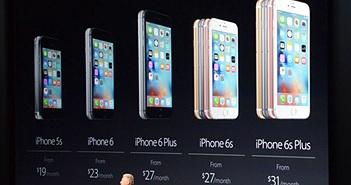 Doanh số iPhone hạ xuống mức thấp nhất trong lịch sử