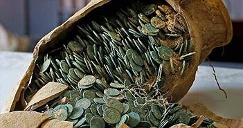Phát hiện kho báu 600 kg tiền xu ở công viên Tây Ban Nha