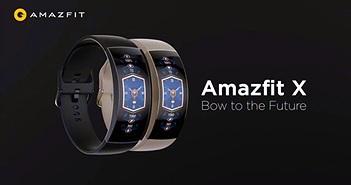 Xiaomi bán ra Amazfit X: màn hình AMOLED cong, giá 149 USD