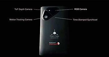 Điện thoại quét 3D Project Tango thế hệ mới sẽ dùng chip Snapdragon 810, bán ra Q3