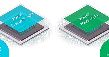 ARM Cortex A73 nhỏ hơn 25% so với Cortex A72 nhưng mạnh hơn 30%, GPU Mali G71 hỗ trợ 4K 120fps