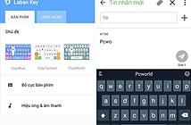 Một số bộ gõ tiếng Việt dành cho thiết bị Android