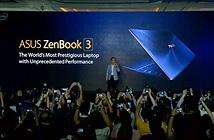 Asus ra mắt Zenbook 3 mỏng hơn MacBook của Apple