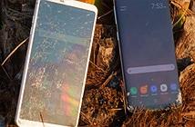 Galaxy S8 và LG G6 đọ độ bền khi bị thả rơi