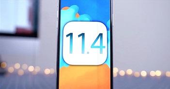 """Apple trình làng iOS 11.4 với nhiều """"vũ khí bí mật"""""""