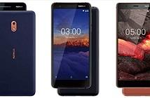 HMD làm mới ba smartphone Nokia giá rẻ Nokia 2, Nokia 3 và Nokia 5