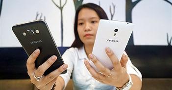 Samsung, Oppo so găng quyết liệt nửa đầu 2015 ở Việt Nam