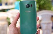 Ảnh Galaxy S6 edge xanh ngọc lục bảo đầu tiên Việt Nam