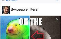 Facebook thử nghiệm chức năng up ảnh phong cách Snapchat