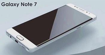 [Galaxy Note 7] Lộ cấu hình chi thiết và ảnh thiết kế Galaxy Note 7