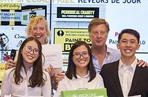 """Sinh viên Việt Nam giành 2 giải cuộc thi quốc tế """"Accor Takeoff! 2017"""" tại Pháp"""