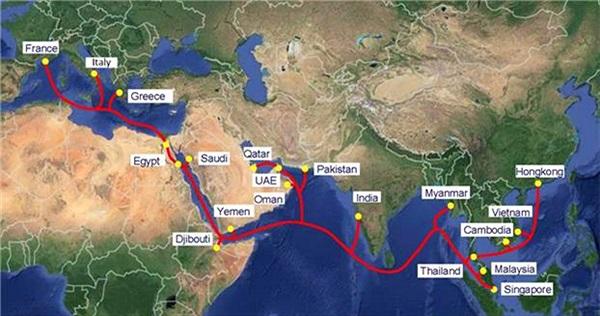 VNPT chuẩn bị khai thác tuyến cáp quang biển quốc tế AAE-1