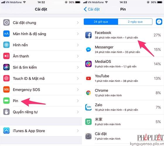 3 lỗi hao pin trên iPhone và cách khắc phục