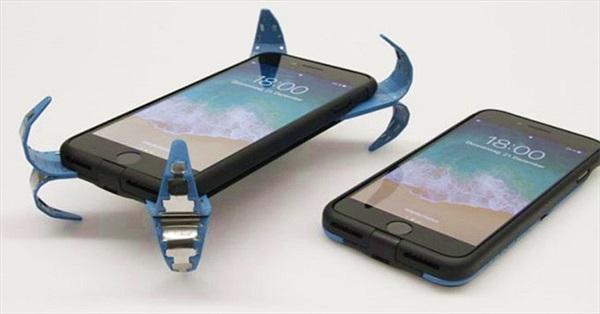 """Sinh viên phát minh """"túi khí"""" chống vỡ màn hình điện thoại"""