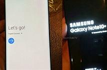 HOT: Chưa ra mắt, Galaxy Note 10+ đã lộ ảnh trên tay