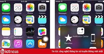 Hướng dẫn tắt nguồn iPhone không cần... nút nguồn