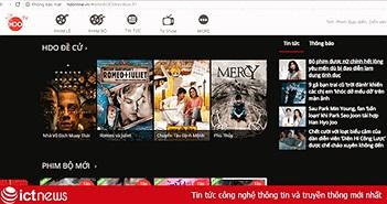 Hdonline.vn bị xử phạt 30 triệu vì vi phạm bản quyền phim của TVB