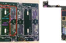 Lộ bo mạch iPhone 7s Plus: Chip xử lý A11 và modem của Intel