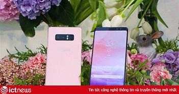 Galaxy Note 8 có bản màu hồng, phát hành hạn chế