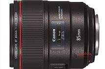 Lộ ảnh Canon 85mm f/1.4L IS và 3 ống kính macro tilt-shift mới