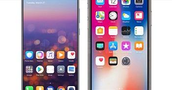 """Huawei """"vỗ ngực giương oai"""", chê """"tai thỏ"""" kém cỏi của iPhone X"""