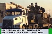 Khám phá siêu xe bọc thép bắc cầu giúp Syria tái chiếm Idlib