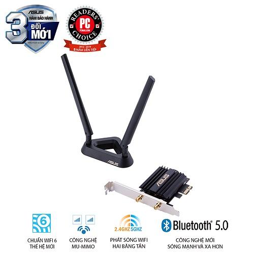 Asus công bố sản phẩm card mạng Wi-fi 6 PCE-AX58BT