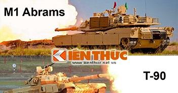 Tại sao xe tăng Mỹ, phương Tây không bắn được tên lửa?