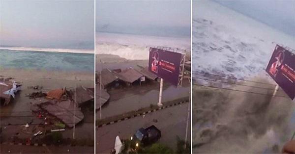 Sóng thần tàn phá hòn đảo Indonesia hình thành do đâu?