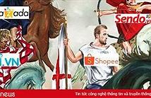Shopee, Sendo và Lazada là 3 ứng dụng thương mại điện tử dẫn đầu về số lượt tải