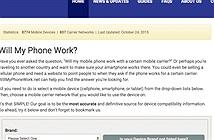 Kiểm tra điện thoại muốn mua có hỗ trợ 3G, 4G?