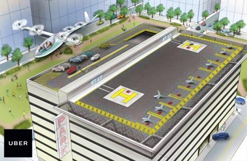 Uber nuôi tham vọng phát triển phương tiện bay