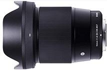 Sigma giới thiệu ống kính 16mm f/1.4 dành cho dòng mirroless Sony
