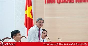 """CEO FPT:  """"Vietcombank và FPT triển khai chính phủ số, ngân hàng số cho người dân Quảng Ninh"""""""