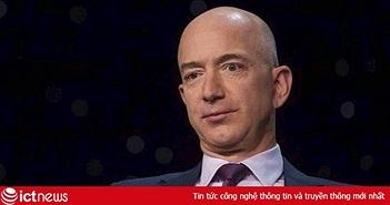 Tài sản của tỷ phú Jeff Bezos giảm mạnh, xuống gần với vị trí thứ 2 thế giới của Bill Gates