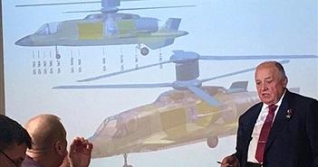 Nga hớ hênh để lộ thiết kế trực thăng tương lai