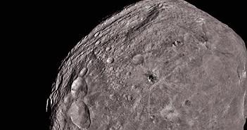 Sửng sốt tiểu hành tinh Vesta tỏa sáng trong diện mạo mới
