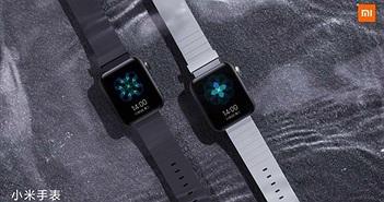 Xiaomi Mi Watch lộ hình ảnh trước sự kiện 5/11, nhìn giống Apple Watch