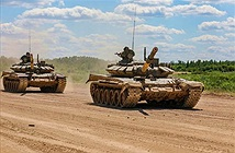 Nga triển khai xe tăng T-72B3 tới quần đảo tranh chấp với Nhật Bản