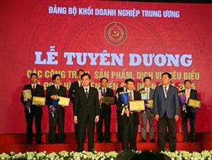 Đảng ủy khối Doanh nghiệp Trung ương tuyên dương 3 dịch vụ của VTC