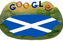 Vì sao hôm nay Google đổi logo quái vật hồ Loch Ness?